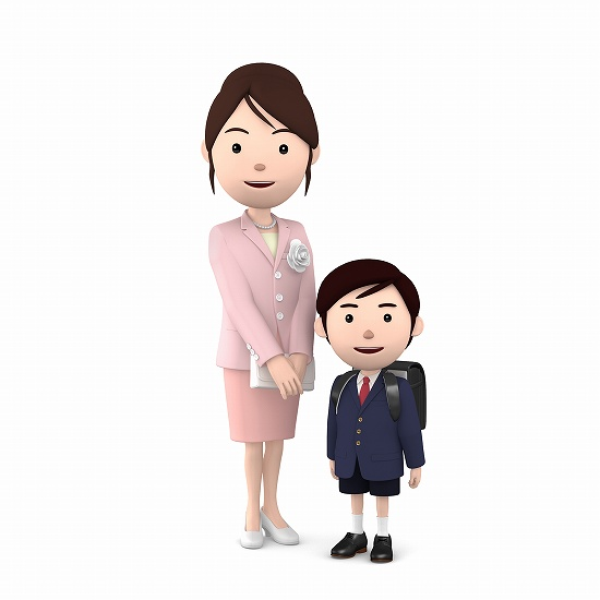 入学式 母親の服装