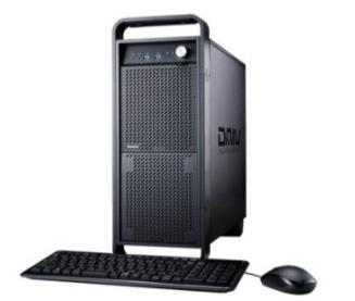 マウスコンピューター タワー型クリエイター向けデスクトップパソコン「DAIV-DGZ510E1-SH2-A-IIYAMA