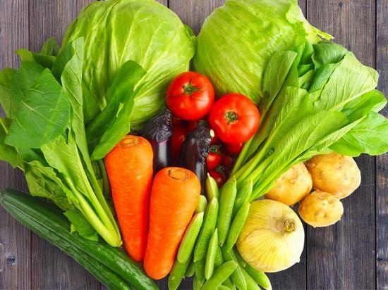 野菜の冷凍方法